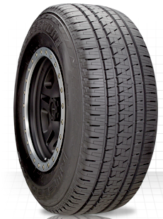 5.Bridgestone Dueler H/L Alenza Plus All Seasons SUV Tire