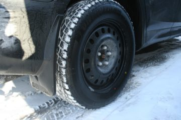 Mud Tires in Snow