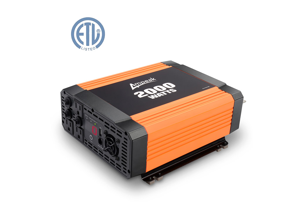 Power Inverter Ampeak 2000W