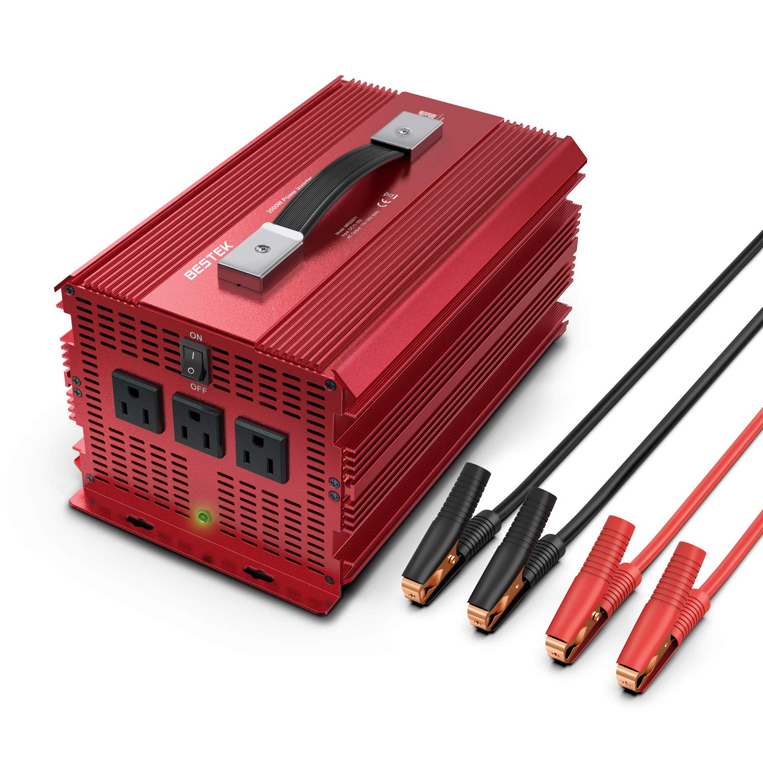 Bestek 2000W Car power Inverter
