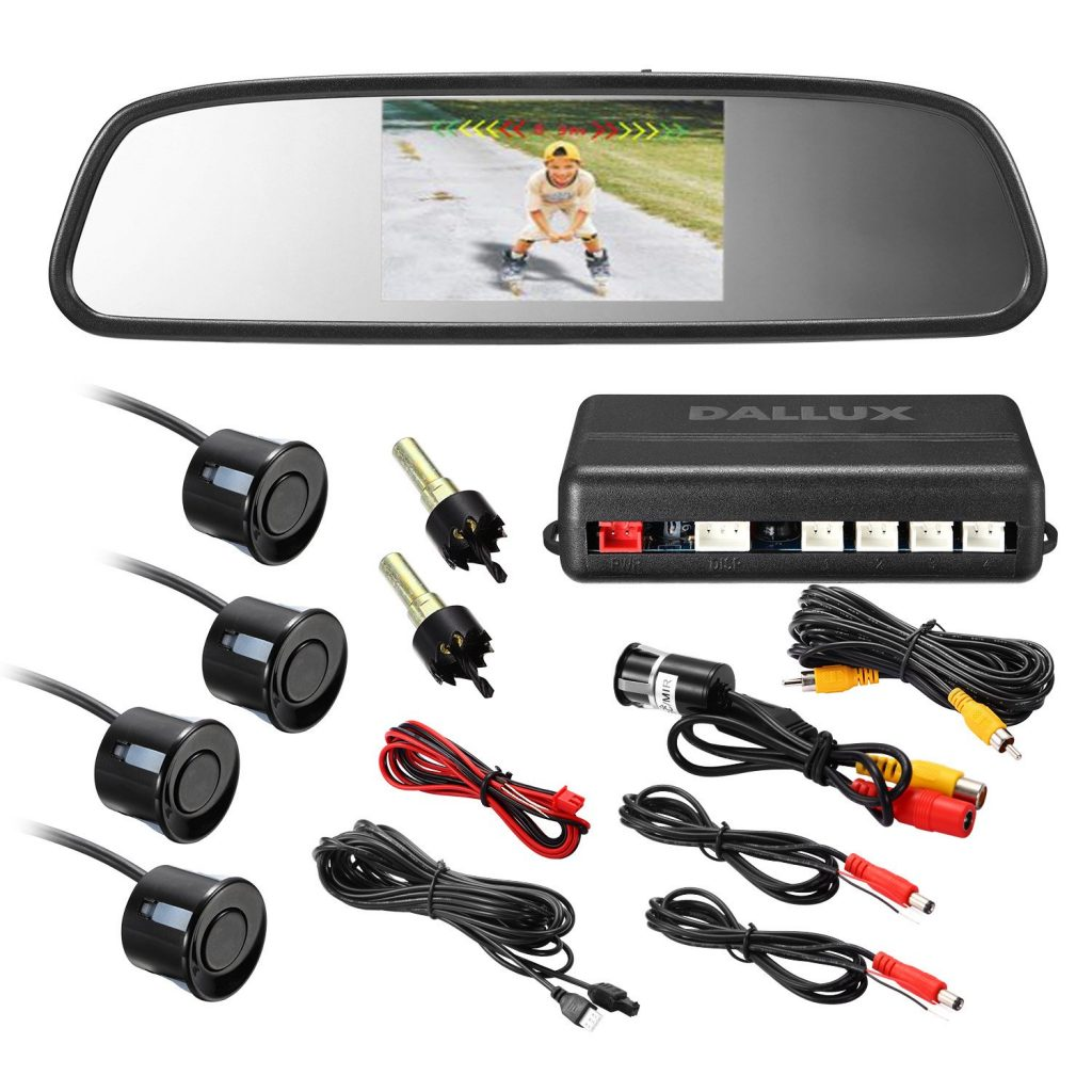 DALLUX Video Parking Sensor Kit