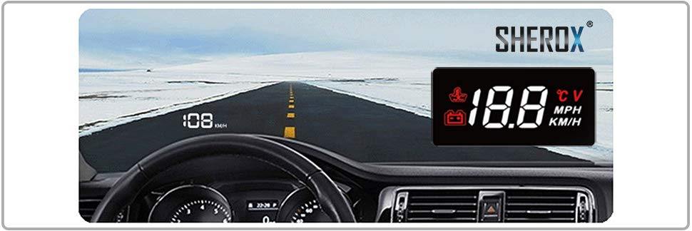 SHEROX Car HUD Display