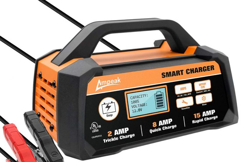 Ampeak Automatic Battery Charger Review