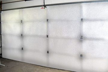 Car Garage Door Insulation Kit