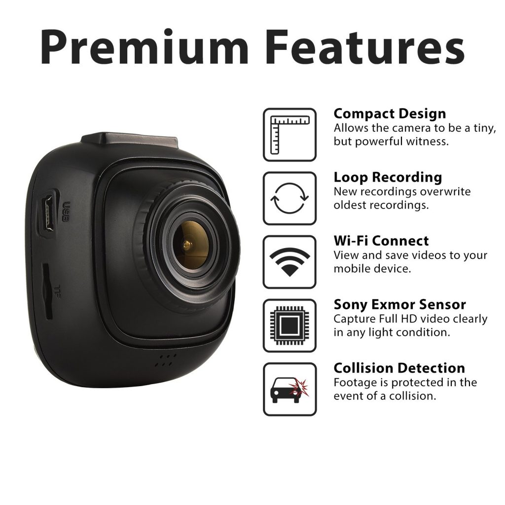 Rexing F10 Dash Cam Features