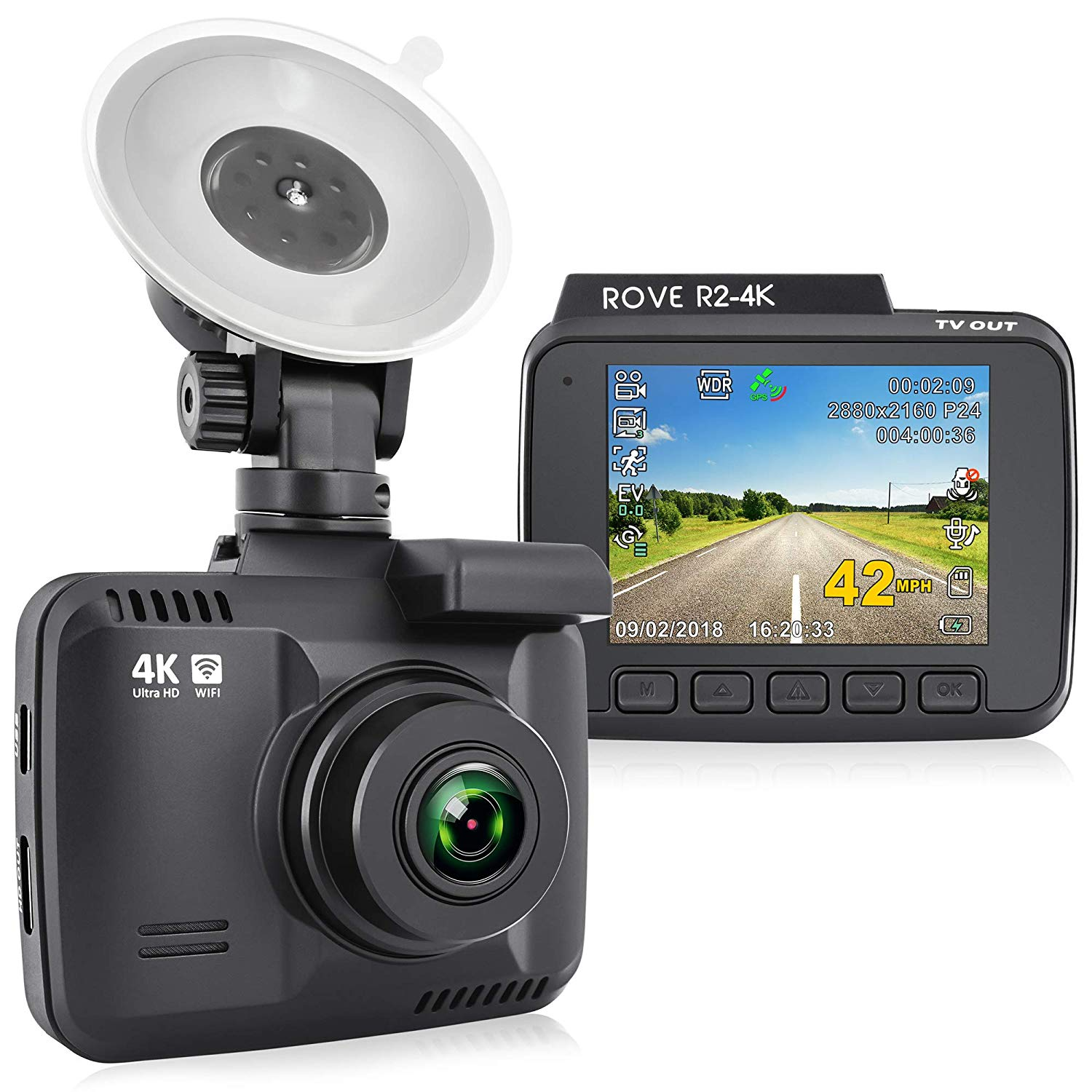 Rove R2 4K Dash Cam Review