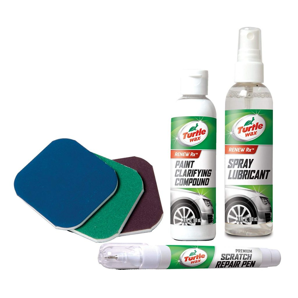 Scratch removing products