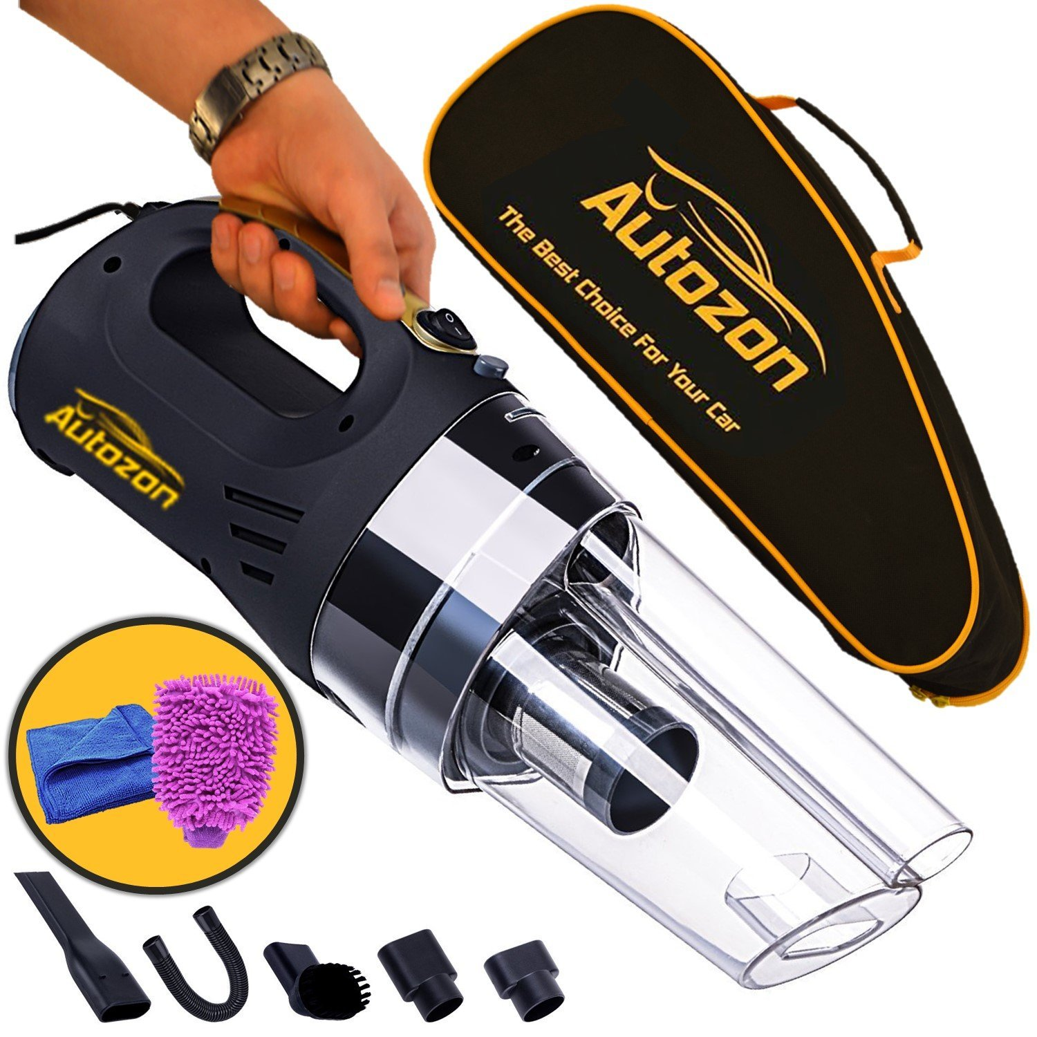 Autozon car cleaner vacuum