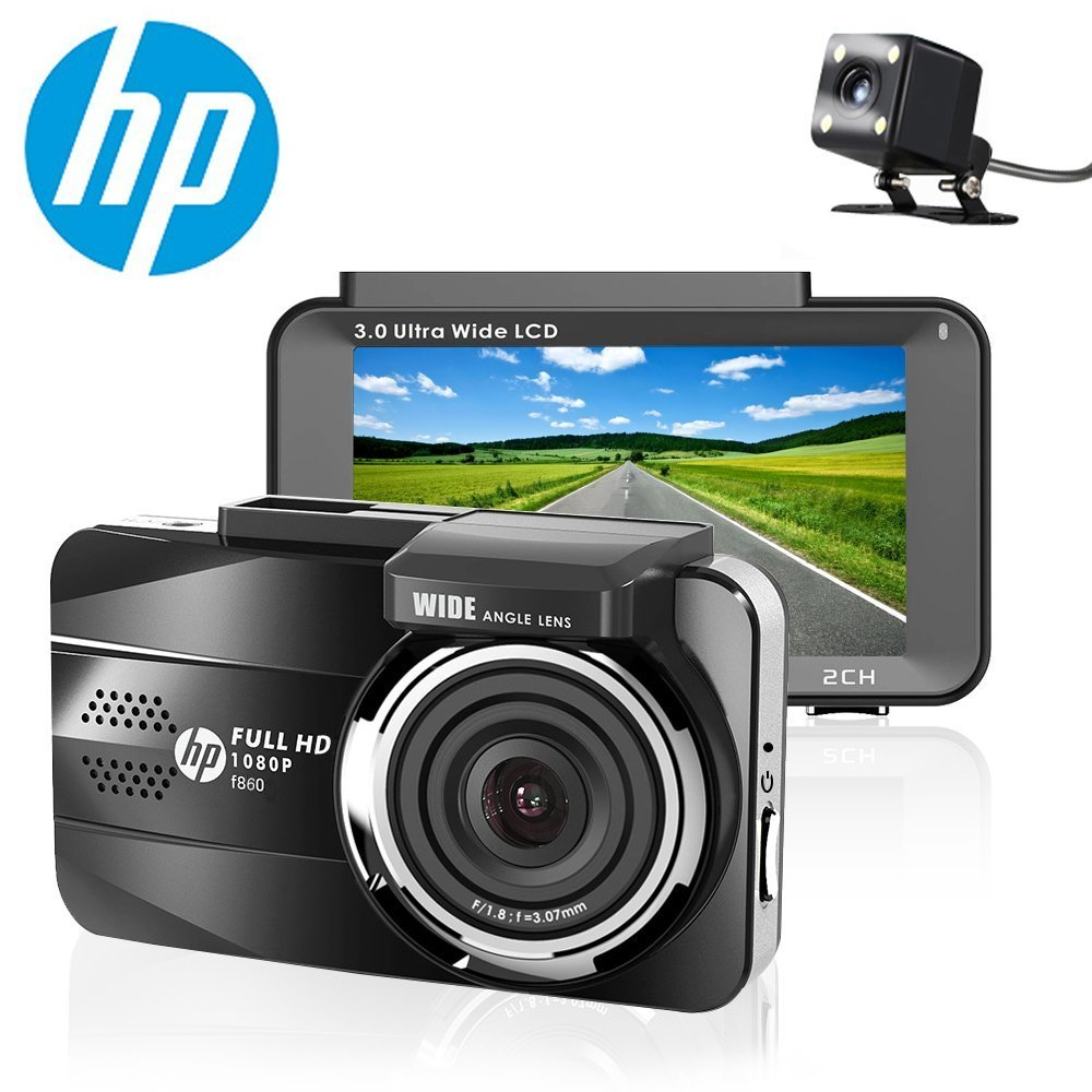 HP F860 Dash Cam Full HD