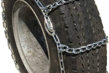Snow chains for semi trucks