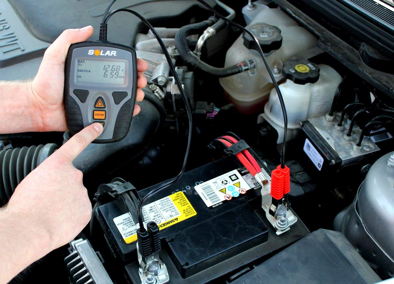 Digital Car Battery Tester