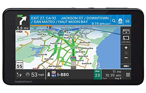 Rand McNally TND 540 Route Map