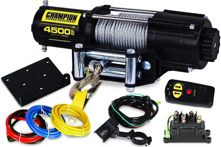 Champion ATV Wireless Winch