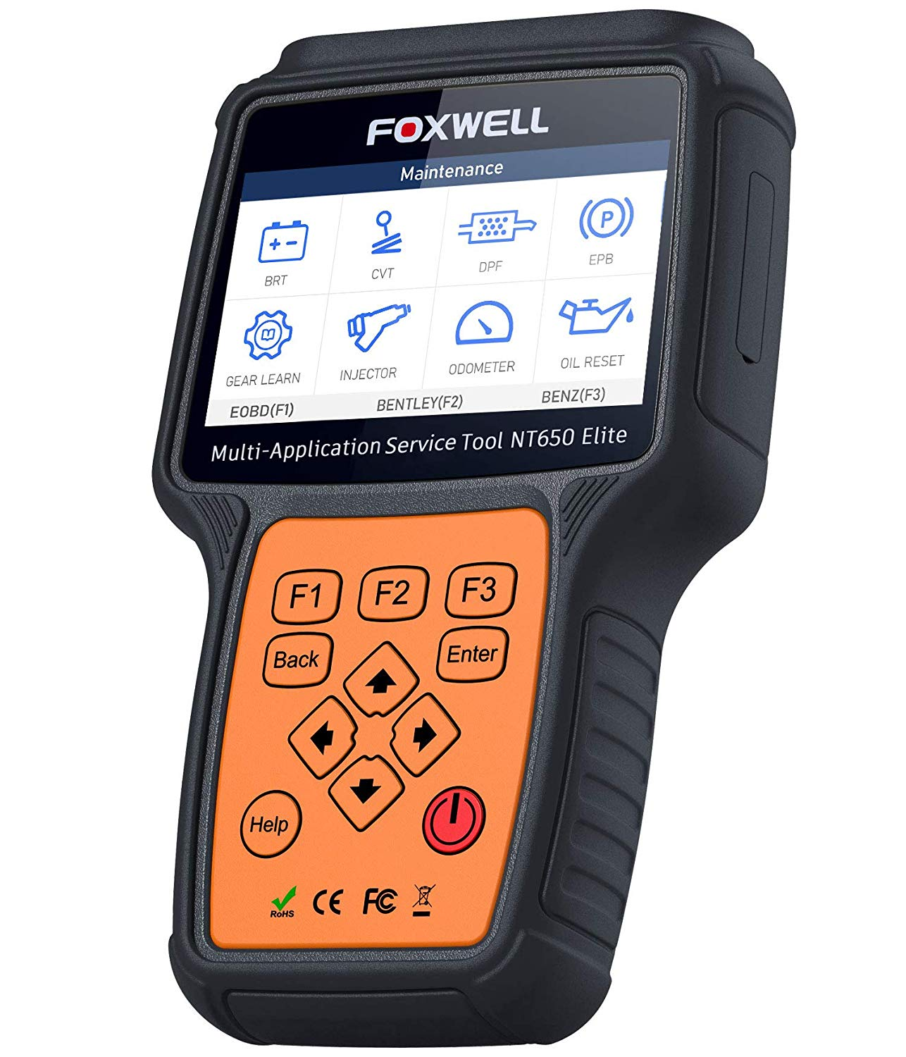 FOXWELL NT650 OBDII Scanner