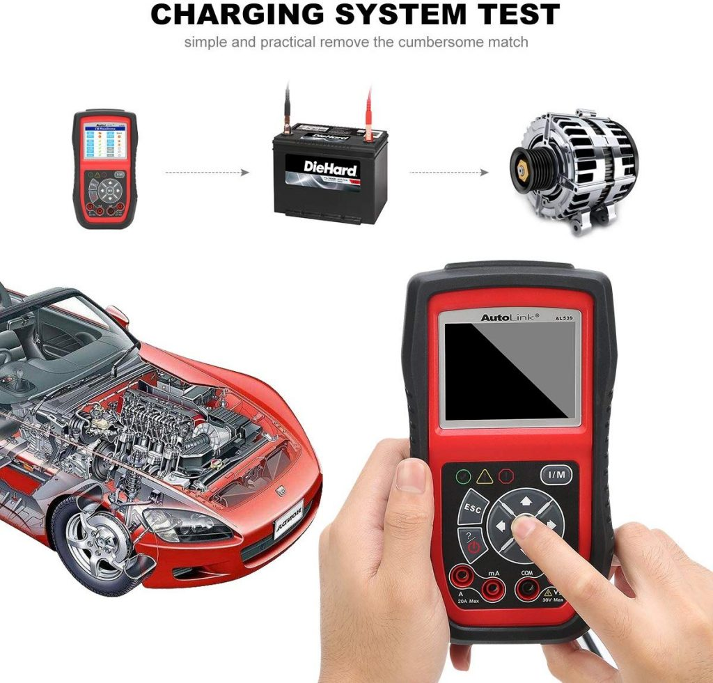 Portable car battery tester Review