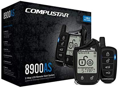 Compustar CS8900-AS-BL 2 Way