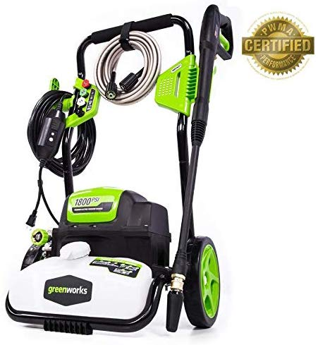 Greenworks GPW1800 pressure washer