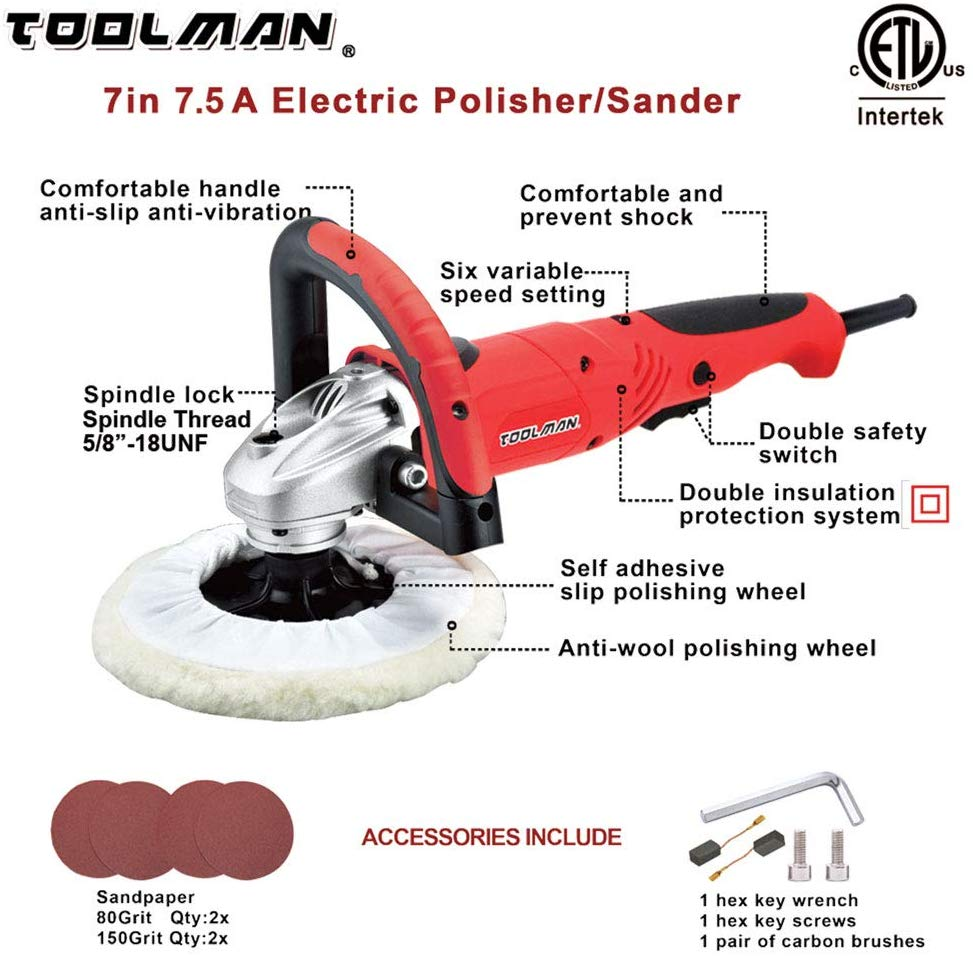 Toolman Electric Car Polisher