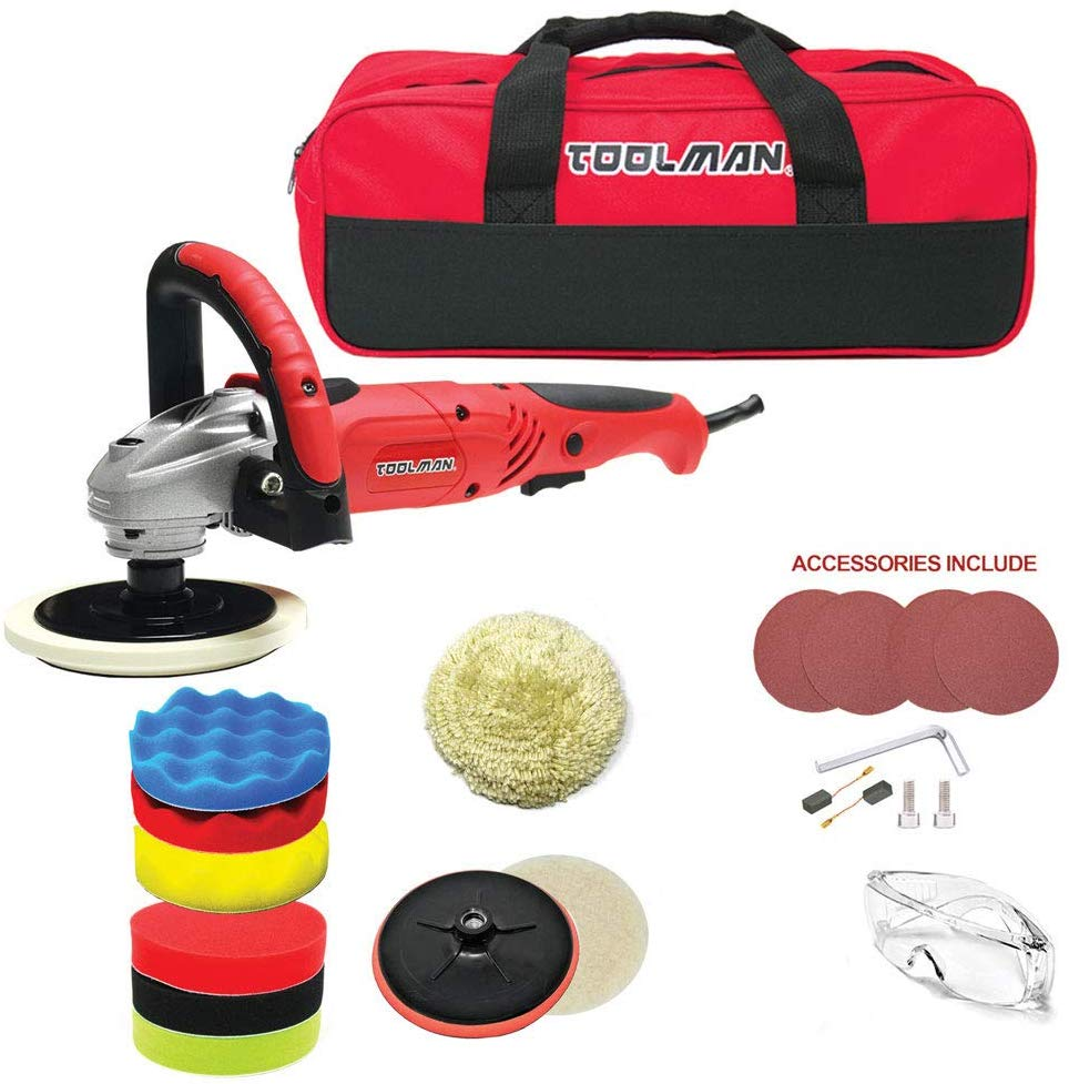 Toolman Electric Car Polisher Kit