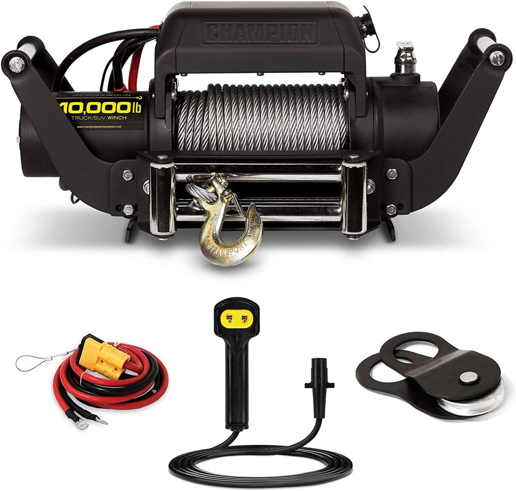 Truck Synthetic Winch Champion 12000 lbs