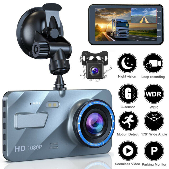 HP Dash Cam for Cars 1296P
