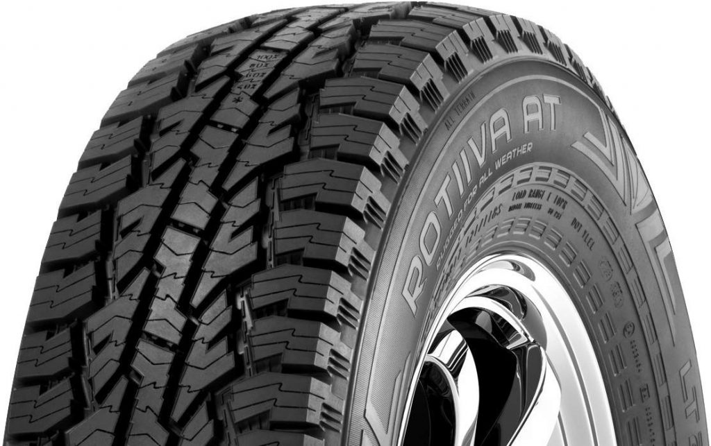 Best All-Terrain Tires For SUV Nokian Rotiiva