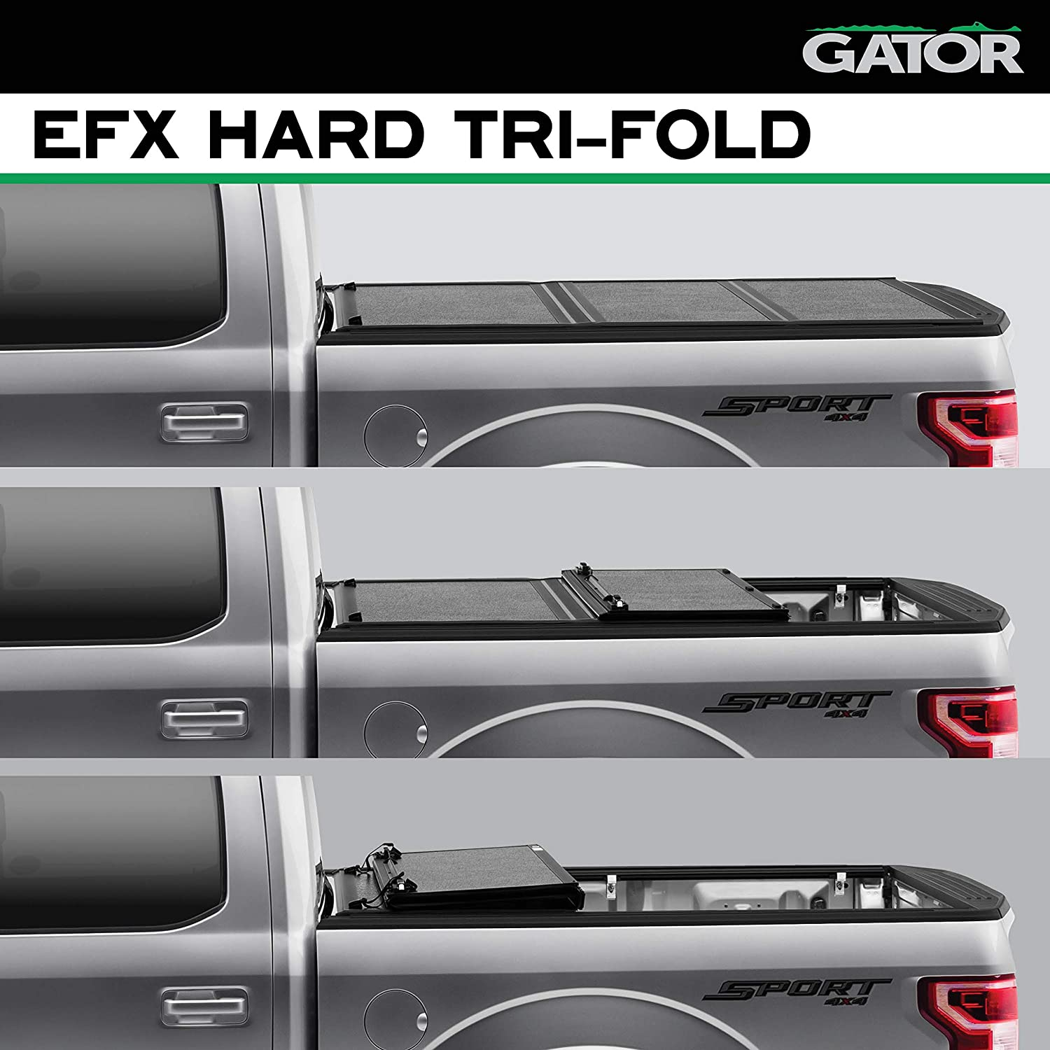 Gator Efx Hard Tri Fold Truck Bed Tonneau Cover Review Auto By Mars