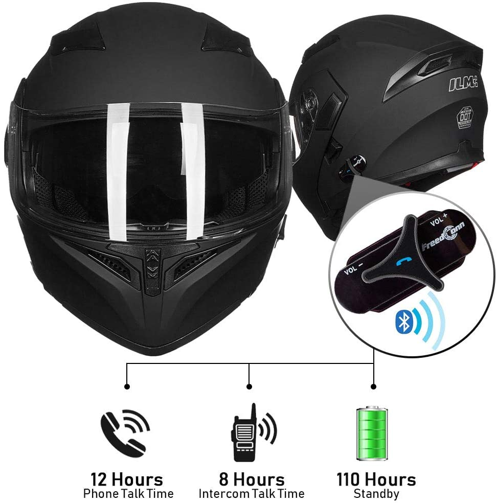 ILM Bluetooth Motorcycle Helmet