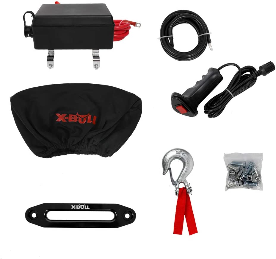 X-Bull Waterproof Syntethic Winch