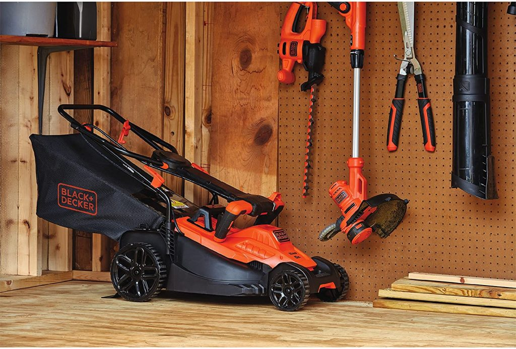 Black and Decker Lawn Mower Specs