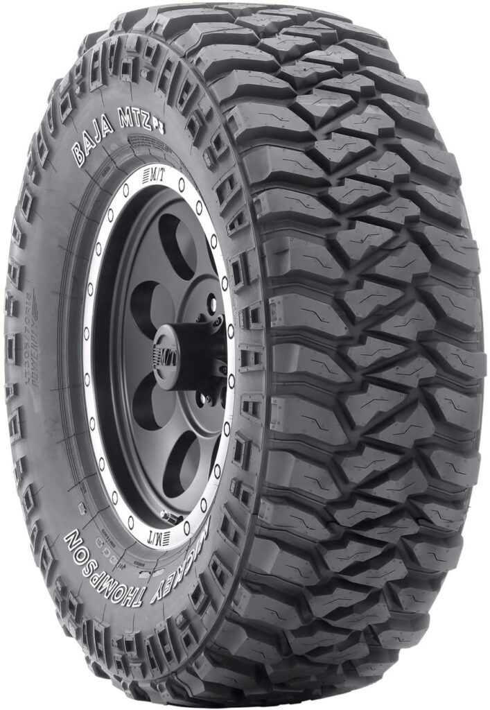 This image has an empty alt attribute; its file name is Mickey-Thompson-Baja-MTZP3-Mud-Terrain-Radial-Tire-707x1024.jpg