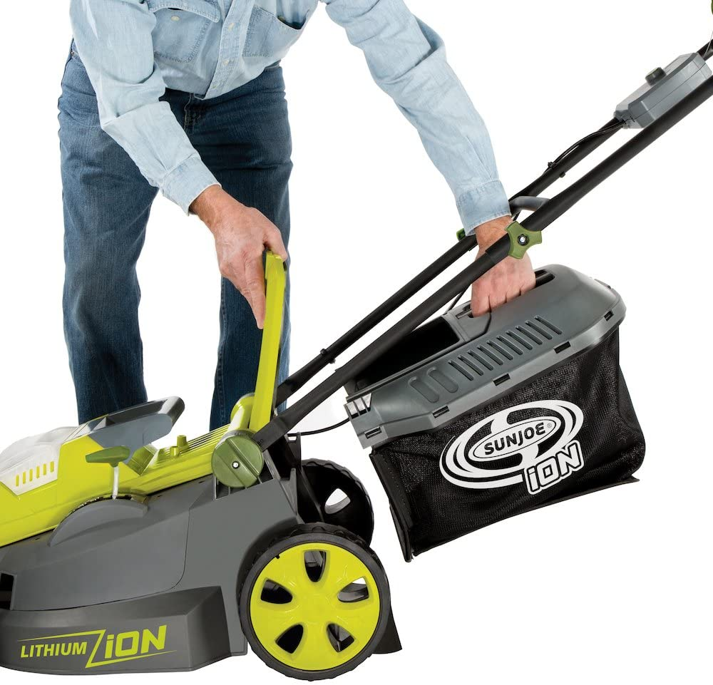 Sun Joe Brushless Cordless Lawn Mower Features