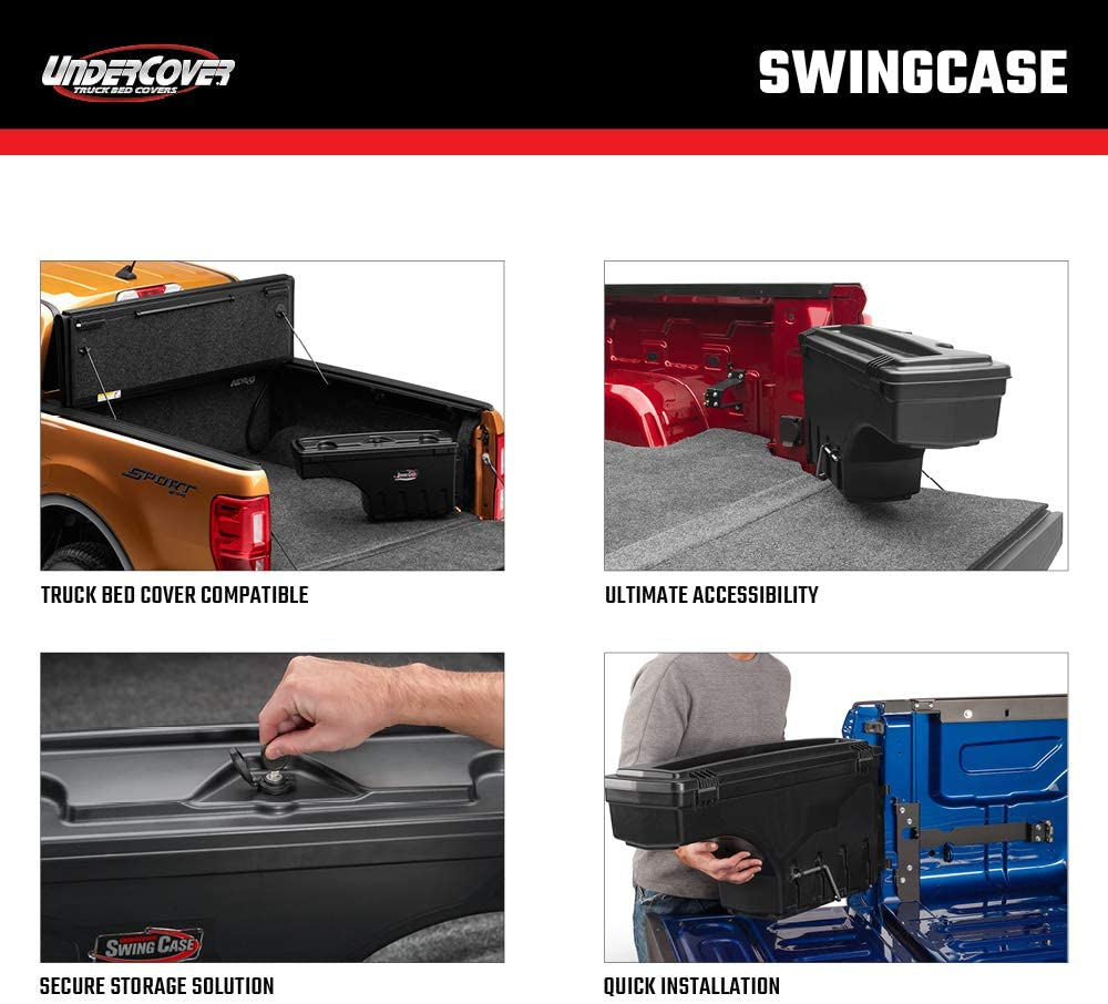 UnderCover Swing Case Truck Bed Toolbox | Truck bed